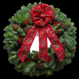 christmas wreath giveaway