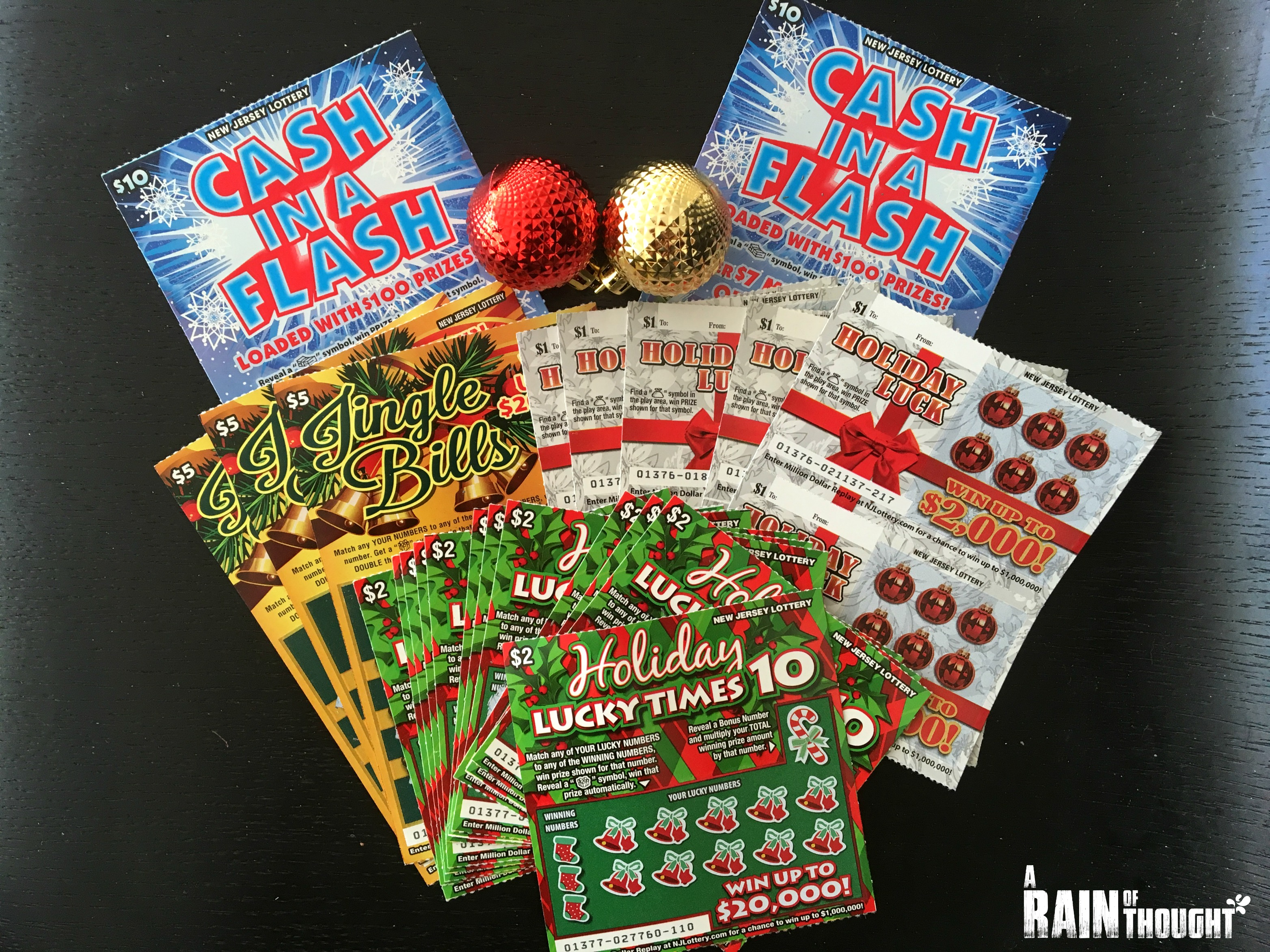 NJ Lottery Holiday Scratch Offs