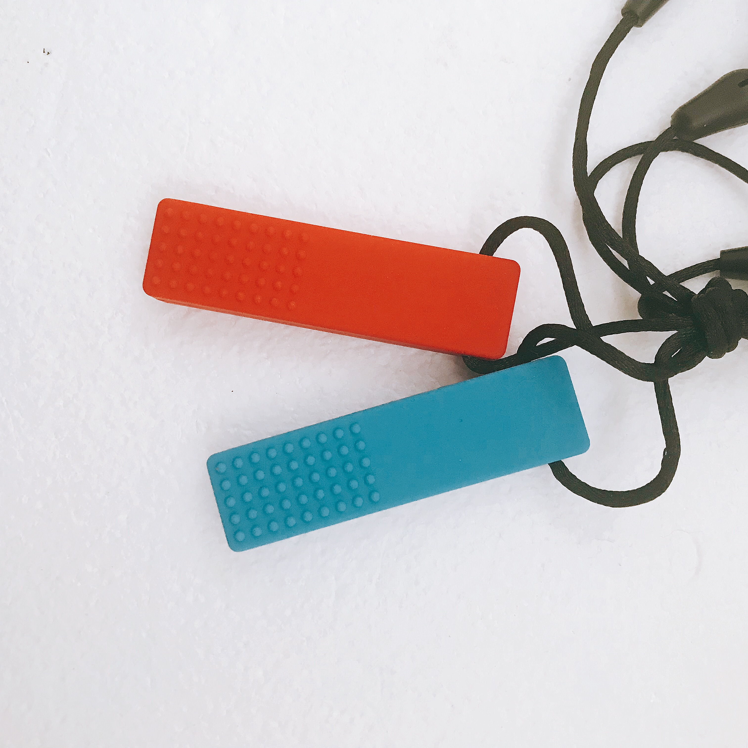 Sensory Chew Toys For Autism : Brick necklace sensory chew for autism pack a rain
