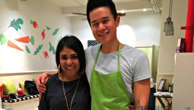 Celebrity Chef Charles Chen