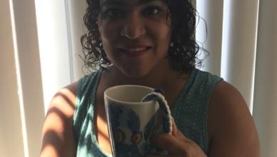 ceramic octopus mug