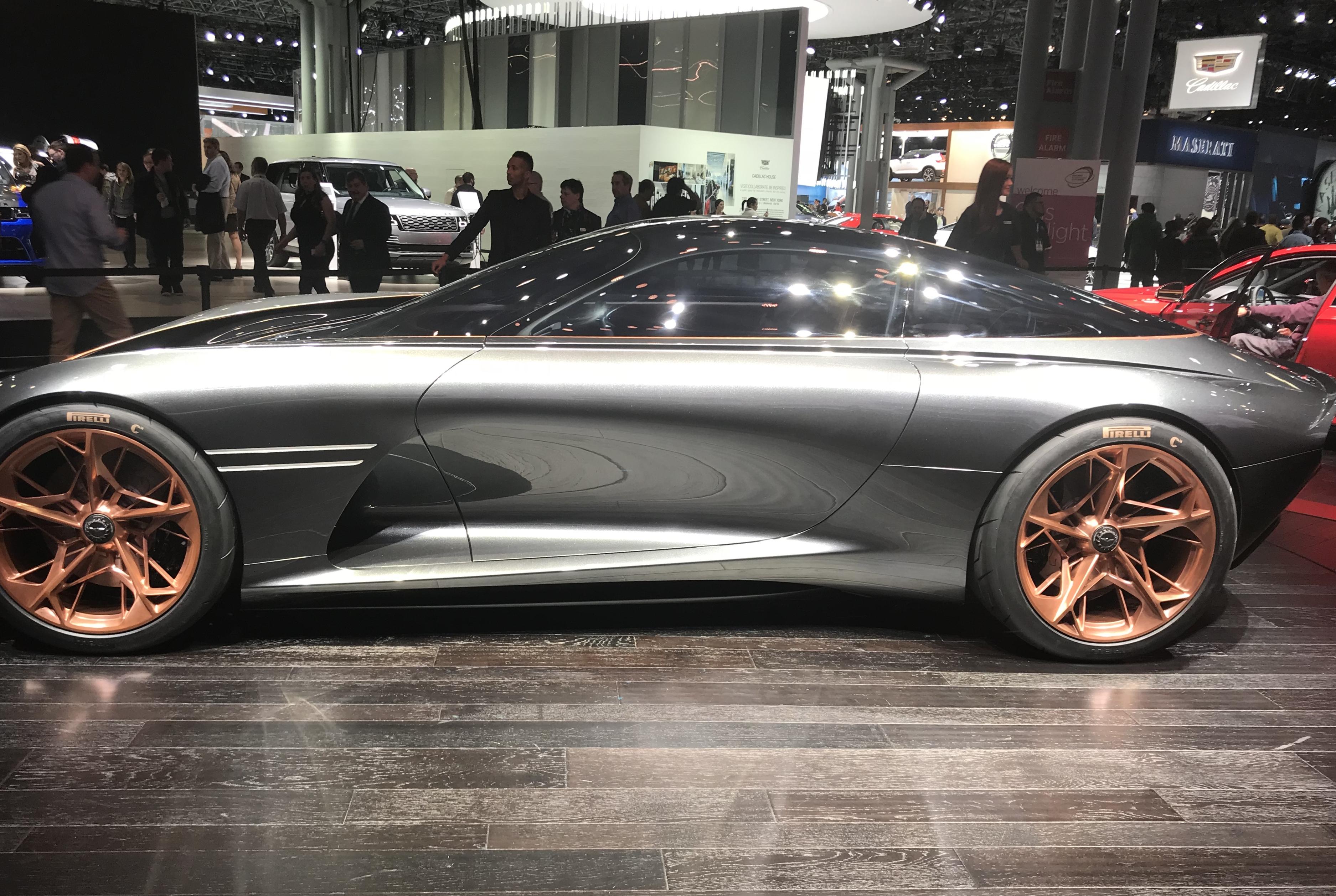 NY Auto Show Recap Mazda Toyota Genesis AutoGravity More A - Jacob javits center car show 2018